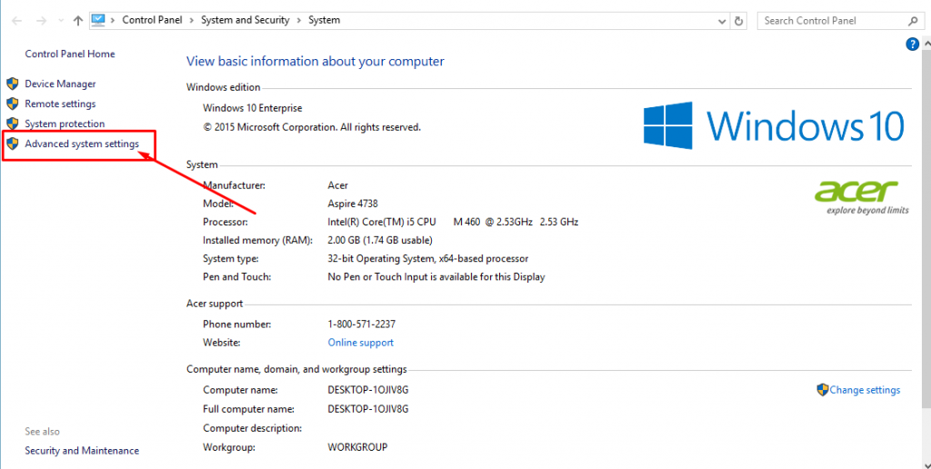 setting path java di windows 10