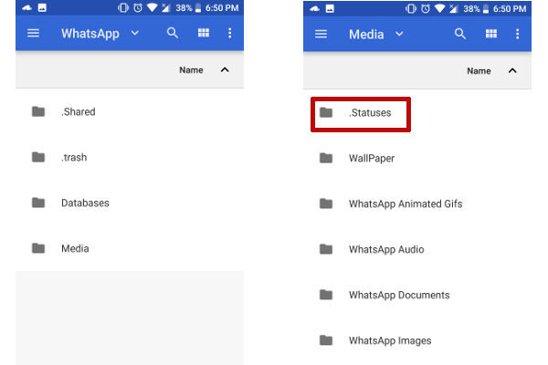 Cara Mengunduh atau Download Status WhatsApp di Android