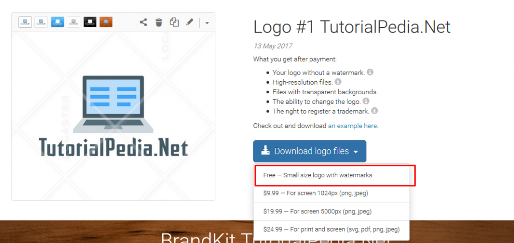 cara membuat logo