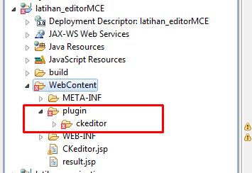 integrasikan ckeditor di jsp