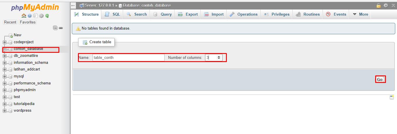 cara membuat database mysql dengan phpmyadmin