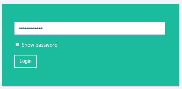 membuat show hide password
