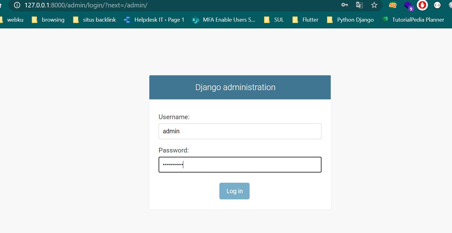 django administration