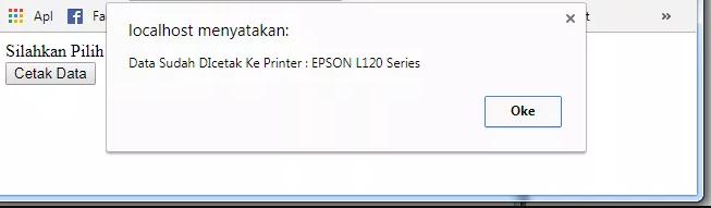 Oleh karena itu, pada pembahasan atau tutorial kali ini, saya akan memberikan cara bagaimana cara menampilkan list printer dengan PHP.