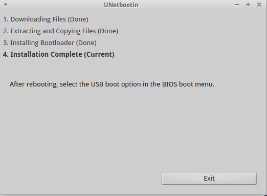 membuat usb bootable