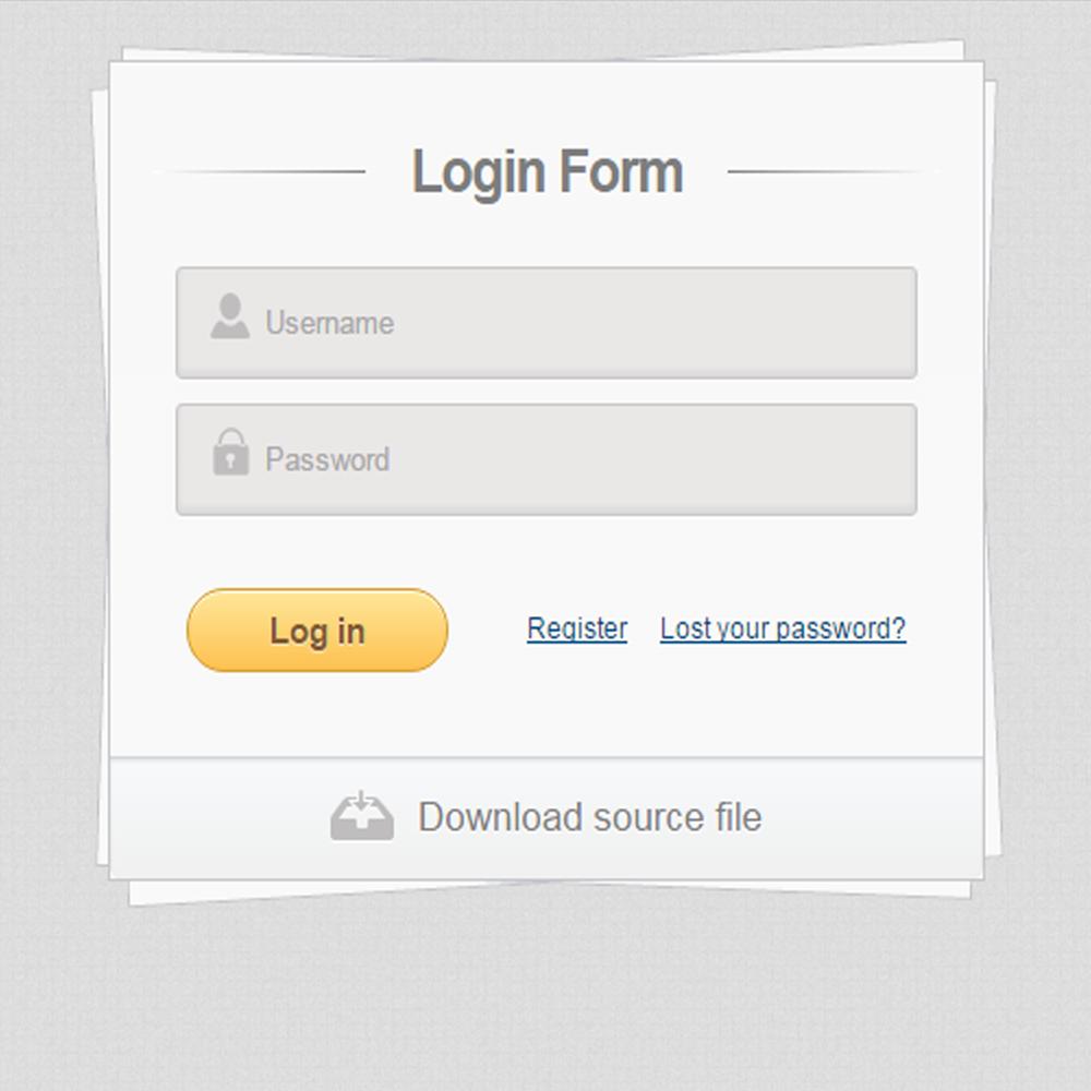 20 Desain Form Login HTML5 Dan CSS3 Gratis Untuk Website