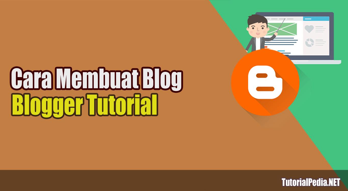 Cara Membuat Blog Lewat HP dengan Mudah | TutorialPedia