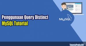 penggunaan query distinct