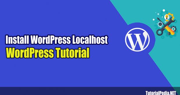 cara install wordpress